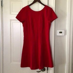Banana Republic Red Dress NEW Size 14